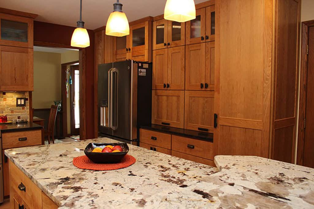 The Natural Cherry Kitchen Is Near The Heart Of A House Because It Is The Source