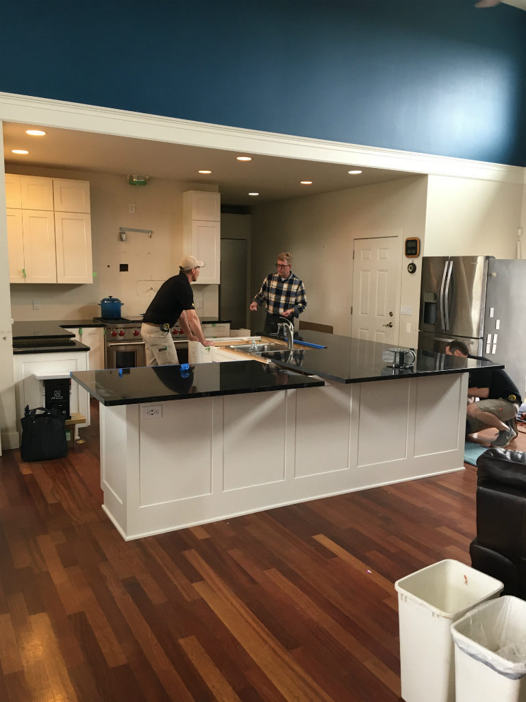 Countertop Installation Day: ADA Compliant Kitchen Remodel