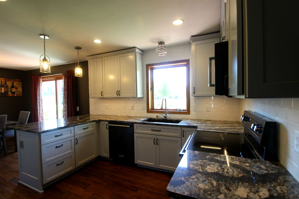 Gray Shaker Style Kitchen Remodel