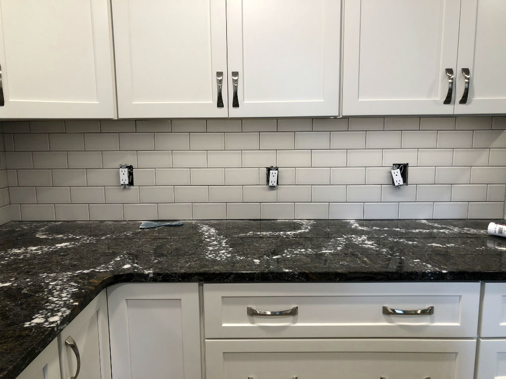 matte subway tile backsplash blue terra designsubway tile backsplash. Black Bedroom Furniture Sets. Home Design Ideas